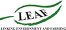 LEAF (Linking Environment and Farming) Logo