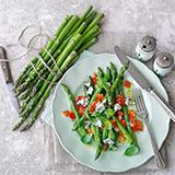 Asparagus and Lemon Vinaigrette