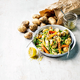 Salad Potatoes with Warm Vinaigrette